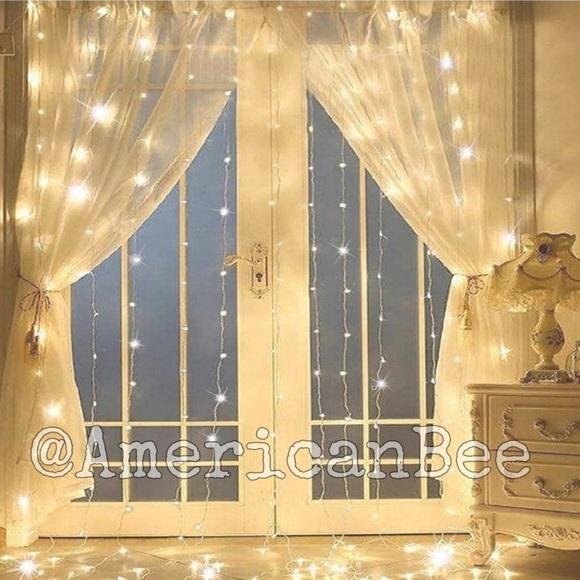 Fairy String Curtain Lights 300 Lights